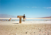 Death Valley - Badwater - Geoff - Greg