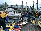 Kayaking - Loading Kayaks - In Anacortes