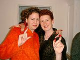 Tracey - Laura - With Beet Fingers
