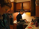 Dinner - At - Xan's House - Laura - Lars - Xan