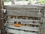Gate - Walkie Talkie Ranch - Closeup