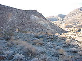 Panamint Valley - Fish Canyon - Marker