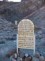 Panamint Valley - Fish Canyon - Silent Sepulchre Signs