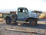 Panamint Valley - Ballarat Ghost Town - Old Truck