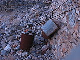 0921 Darwin Canyon - Old Mine - Ore Buckets