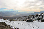 Saline Valley Road - Snow - Panamint Valley