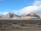 Granite Springs Valley - Bluewing Flat Playa - Sahwave Mountains