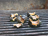Dinner - Chitons - On BBQ