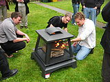 Eric Schurman - Adam - Lars - Assembling Outdoor Fireplace