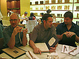 Saturday - Bellagio - Noodles Restaurant Dinner - Garwood - Kevin - Matt