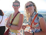 Sunday - Top of Stratosphere Tower - Laura - Liz