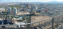 Sunday - Top of Stratosphere Tower - View - Panorama