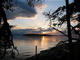 Camping - Sunset - Blackberry Point - Valdes Island