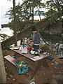 Wallace Island - Laura Cooking