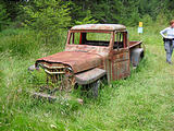 Wallace Island - Old Jeep Truck