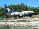 Boeing 737 Passenger Jet Airplane - To be put in water as artificial reef