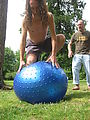 Ian - On - Blue Ball - Garwood