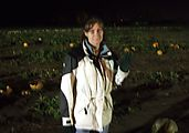 Corn Maze - Becky - Ghost in Pumpkins (Photo by Lars)