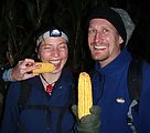Corn Maze - Suzanne - Lars - With Corn (Photo by Lars)