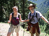 Mount Townsend Hike - Suzanne - Mark