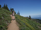 Mount Townsend Hike - Laura