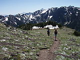 Mount Townsend Hike - Mark - Suzanne