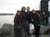 Saturday - Ferry to Port Townsend - Erika - Amy - Lars - Lisa