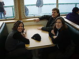 Saturday - Ferry to Port Townsend - Amy - Tom - Erika