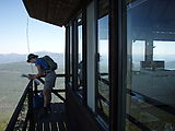 Deschutes National Forest - Odell Butte - Lookout Tower - Laura
