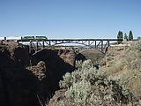 Crooked River Gorge - Bridge - Train
