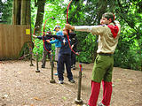 Archery - Candace - Sharon - Shuey - Scott