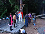 Campfire - Skits - Marshmallows - Suzanne - David - Scott - Dana - Barry - Wags