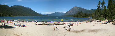 Lake Wenatchee - Beach - Panorama