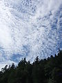 Kayaking Lummi Island - Clouds