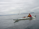 Kayaking Lummi Island - Southern End of Island - Geoff