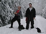 Snowshoeing - Geoff - Brady (Photo by Alexis)