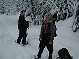 Snowshoeing - Brady - Geoff (Photo by Alexis)