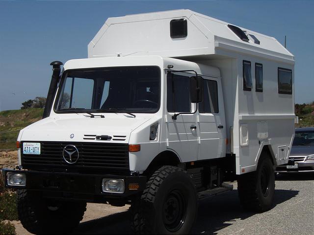 Unimog Campers Mercedes
