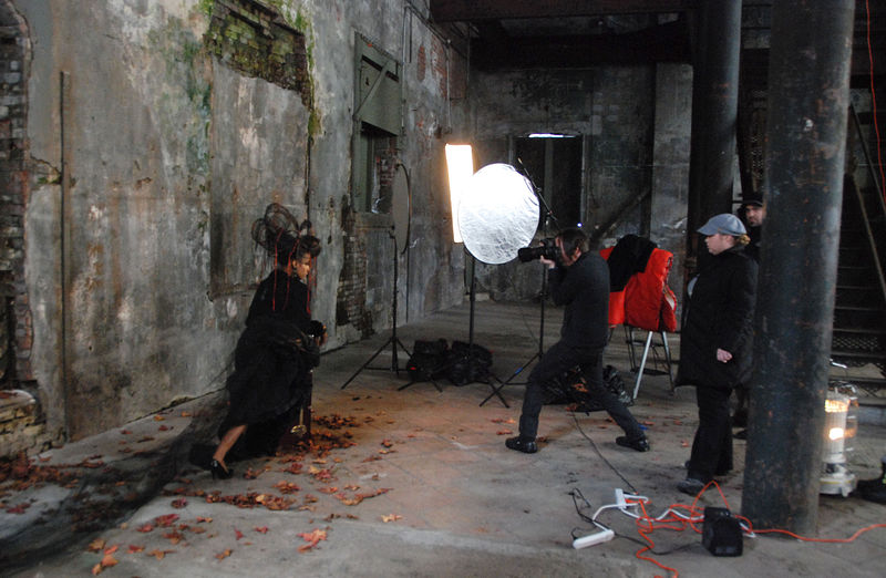 Photo Shoot In The Old Brewery Building