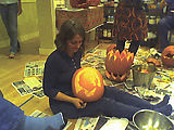 Pumpkin Carving - 25 - Angie - Obama