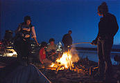 Saturday - Beach Campfire