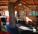 Cedar Creek Treehouse - Inside