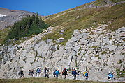 Mount Rainier National Park - Climbers