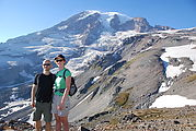 Mount Rainier National Park - Geoff, Laura - Mt. Rainier