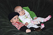 Babies in the Beanbag - Theo - Keira