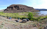 Quilomene - Camping by the Columbia River
