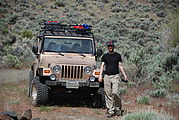 Quilomene - Camping by the Columbia River - Jeep - Jeff