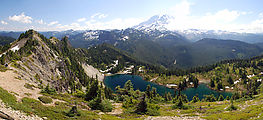 Tolmie Lookout Trail - Eunice Lake - Mt. Rainier