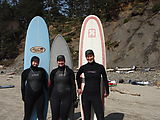 Oregon Surfing - Beach - Amy Voros - Colleen - Laura - Surfboards