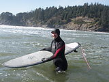 Oregon Surfing - Beach - Colleen